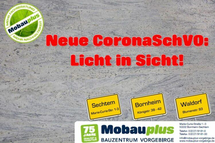 Neue CoronaSchVO in NRW: Licht in Sicht
